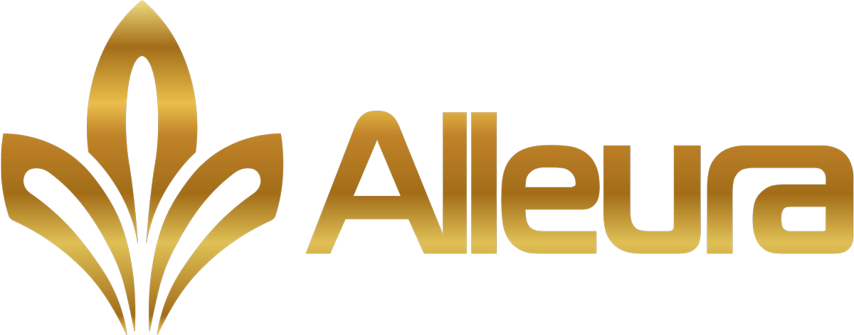 Alleura (Gold Full) Logo